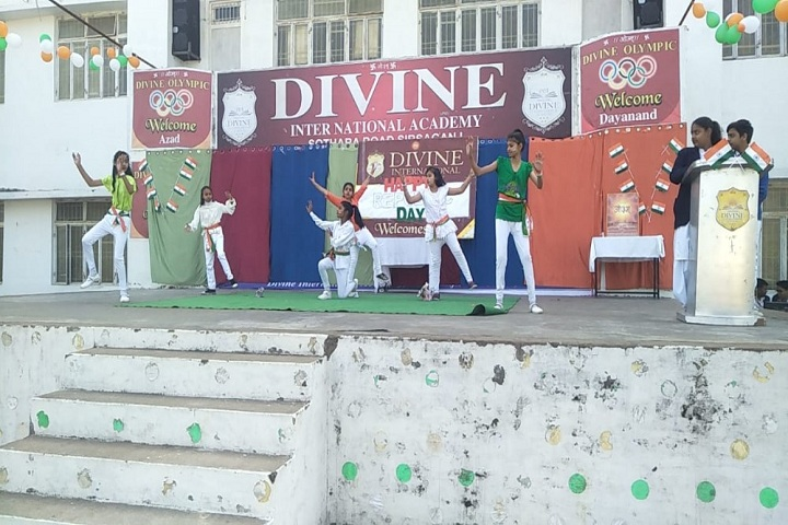 Divine International Academy-Events republic day programme