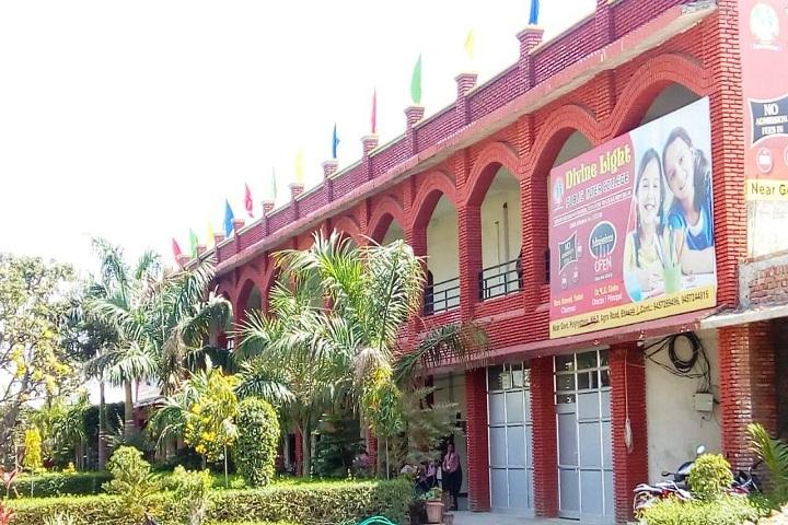 Divine Light Public Inter College-Campus-View side