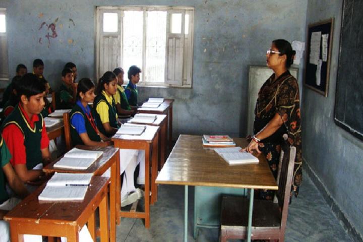 Divine Public School-Classroom with teacher