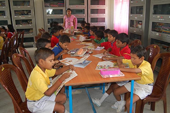 Divine Public School-Library