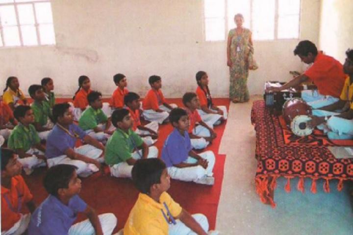 Divine Public School-Music Room