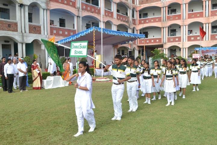Divine Sainik School-Rally