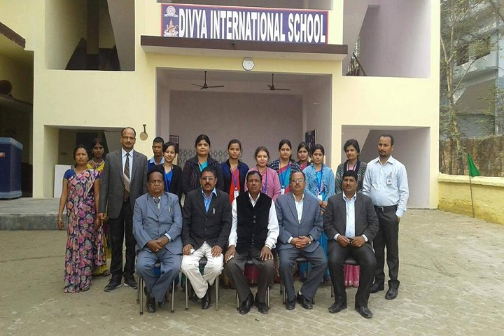 Divya International School-School View
