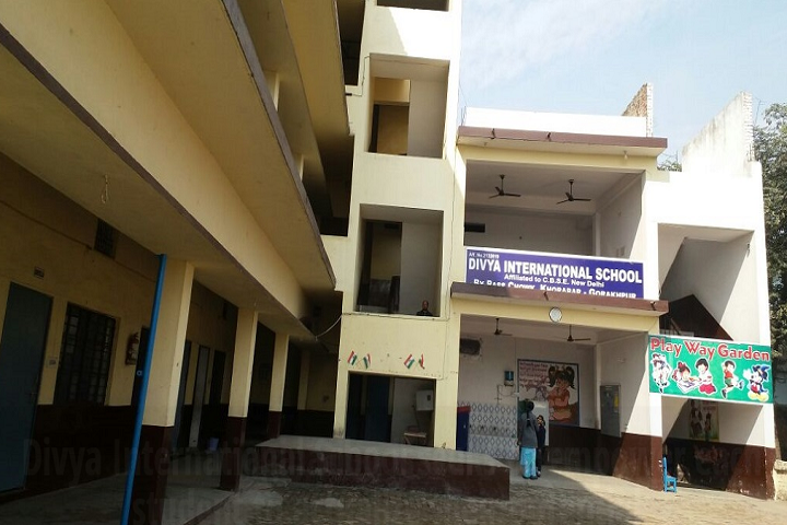 Divya International School-Campus