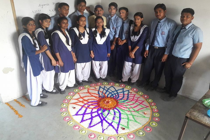 Divya International School-Rangoli