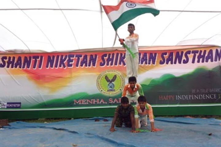 Shanti Niketan Shikshan Sansthan-Independence Day