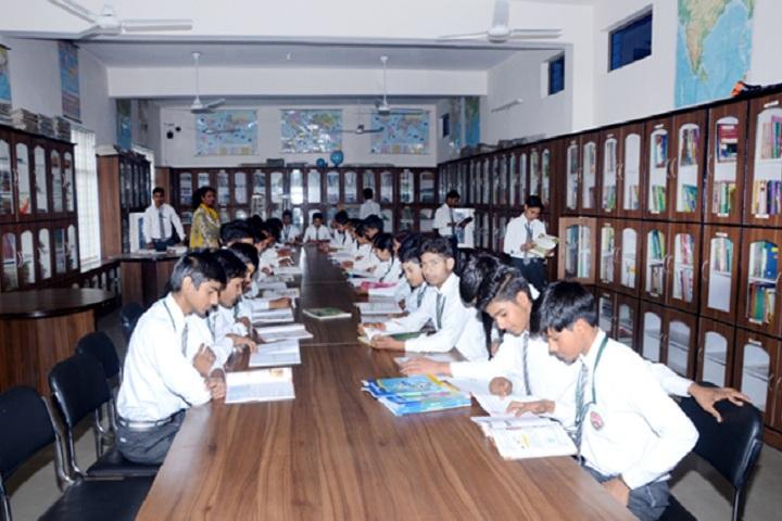 Divya Public School-Library