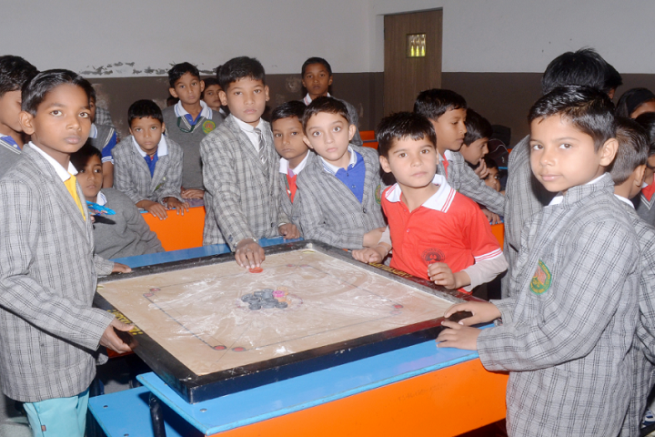 Divya Public School-Sports carrom