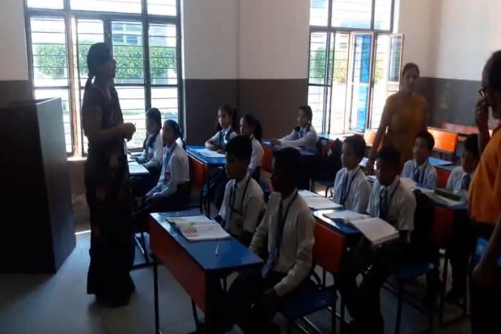 Divya Public School-Classroom