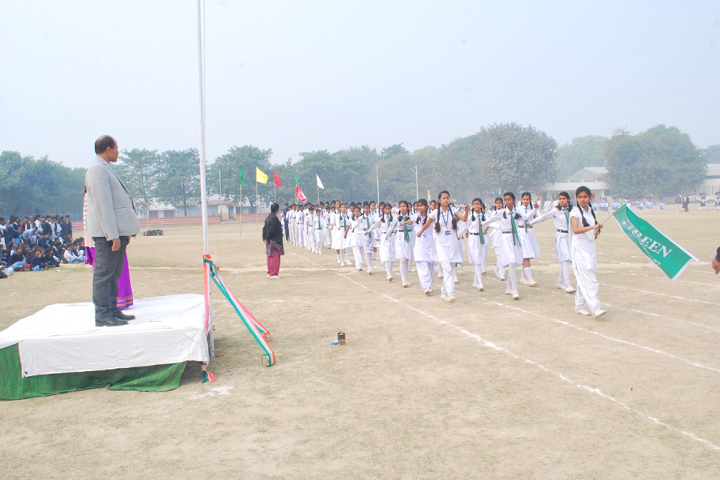 Dlw Inter College-Events sports meet