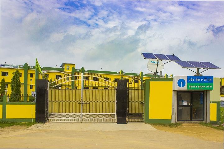 Dolphin Public School-Campus-View entrance