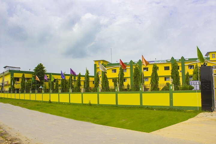 Dolphin Public School-Campus-View outer