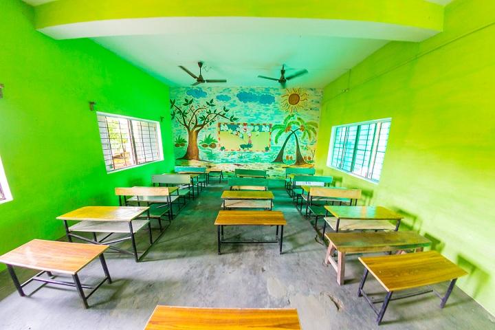 Dolphin Public School-Classroom full view
