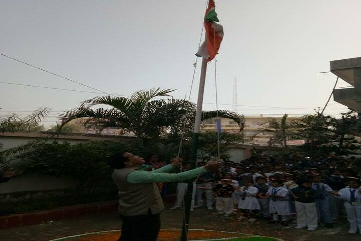 Shanti Niketan Sr Secondary School-Flag Hosting