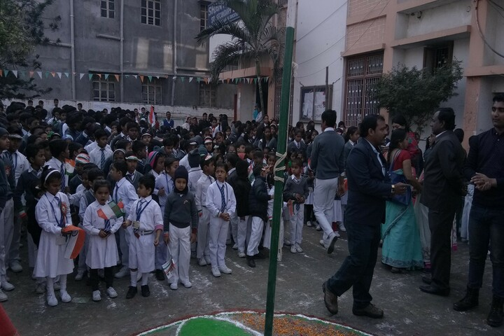 Shanti Niketan Sr Secondary School-Independence Day