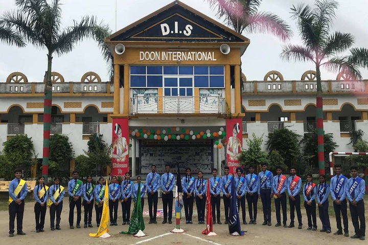 Doon International School-Campus-View front with events