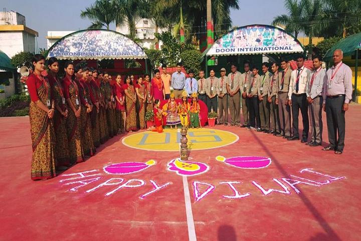 Doon International School-Events diwali