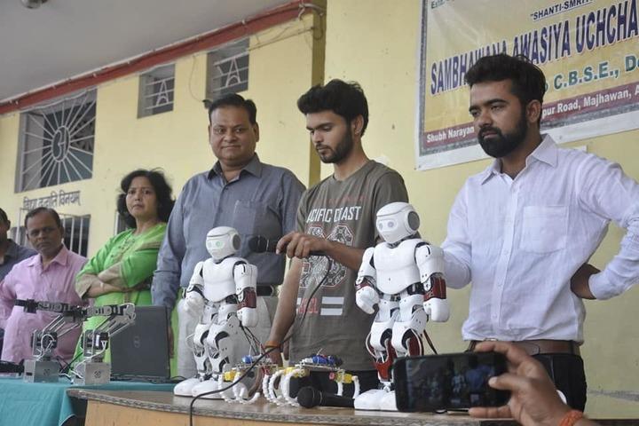Shanti Smiriti Sambhawana Awasiva Uchh Vidyalaya-Robot