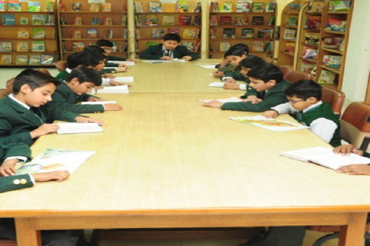 Dps World School-Library with reading room