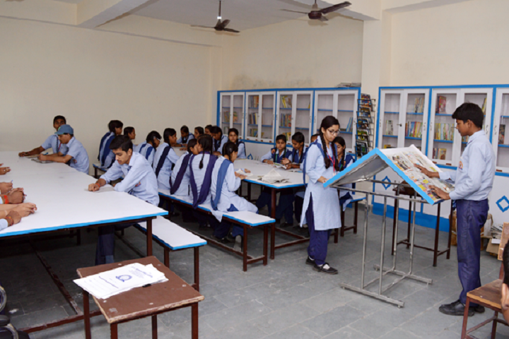 Dr G L Kanojia Public School-Library