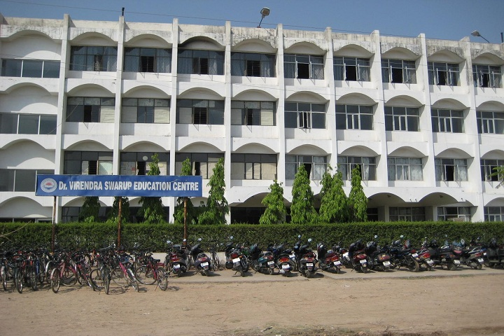 Dr Virendra Swaroop Education Centre-Campus-View front