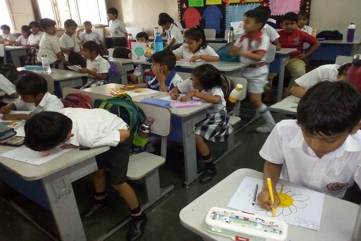 Dr Amrit Lal Ishrat Memial Sunbeam School-Classroom
