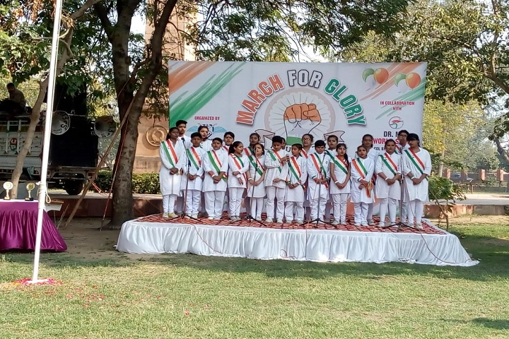 Dr MPS World School-Events republic day singing
