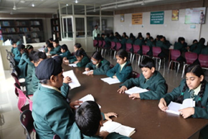 Dr MPS World School-Library with reading room