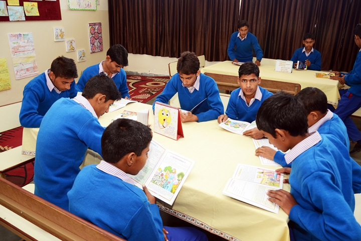 Dr RM Saha Global School-Library