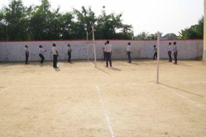 Sharada Shikshan Sansthan-School Ground