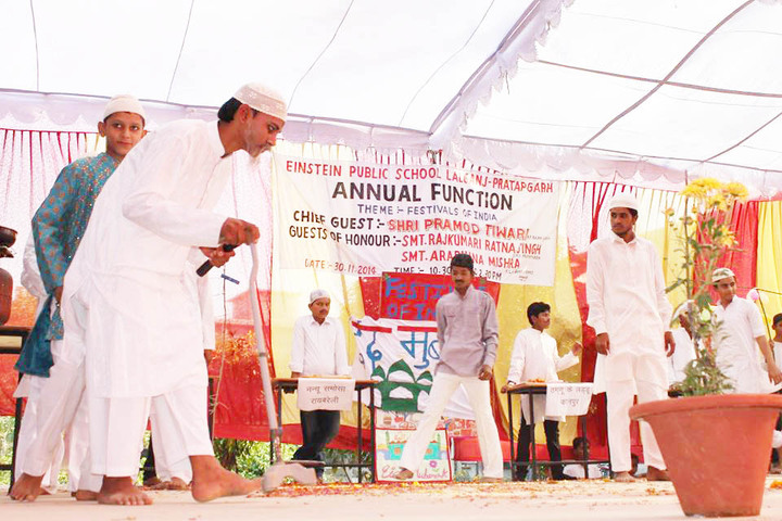 Einstein Public School-Annual Day Drama Competetion