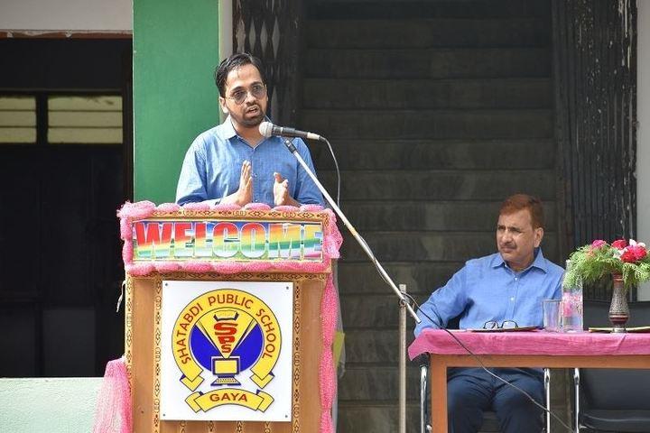Shatabdi Public School-Speech