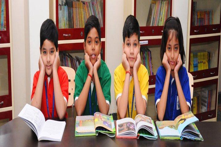 Escorts World School-Library