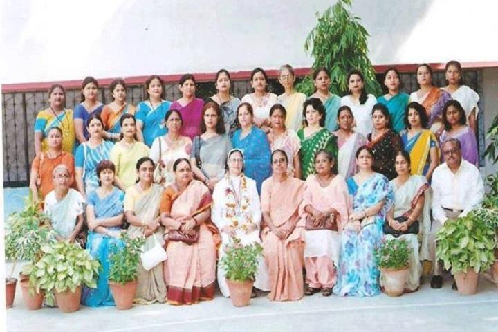 Fatima Convent School-Staff Group Photo