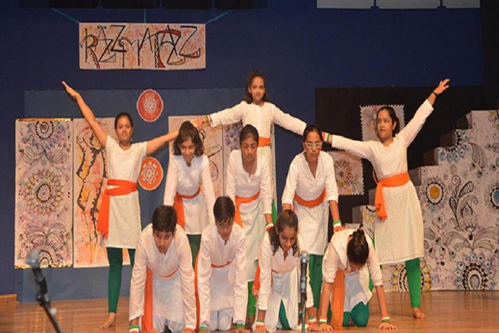 Fr Agnel School-Dance Competation