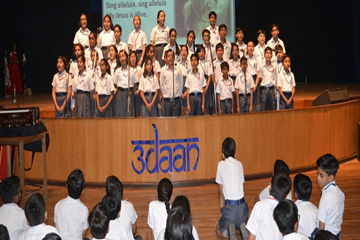 Fr Agnel School-Special Assembly