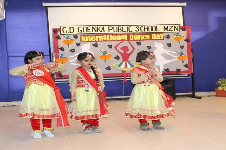 G D Goenka Public School-International Dance Day