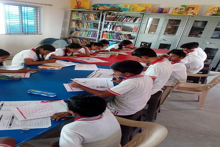 G B International School-Library