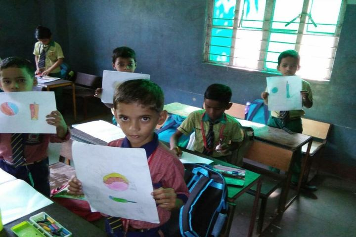 Shivam International School-Drawing Competition