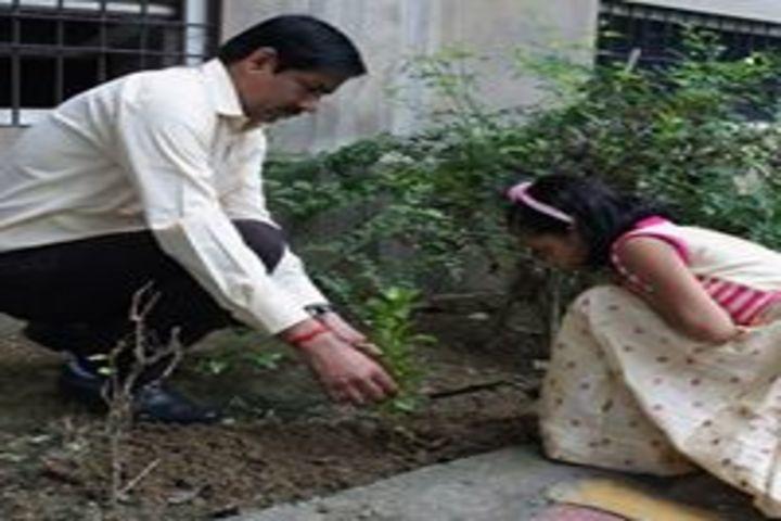 G D Global School-Cleanliness Programme