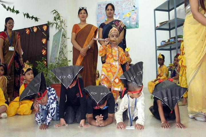 G D Global School-Krishnastami Celebrations