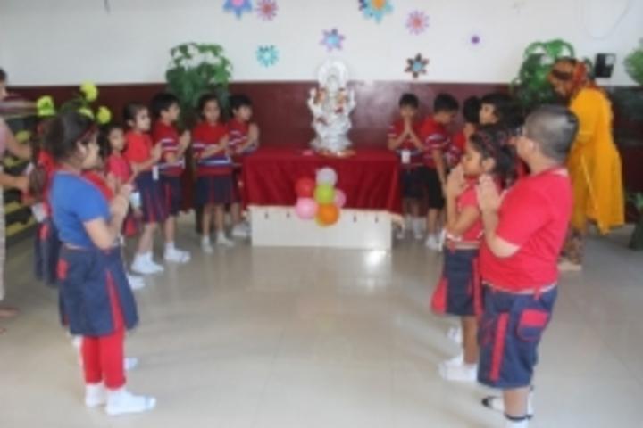 G D Goenka Public School-Ganesh Chaturti