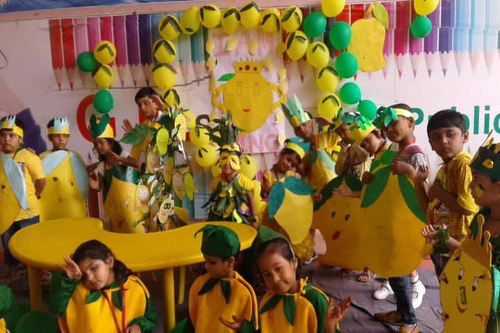 G k Silver Stone Public School-Mango Day Celebrations