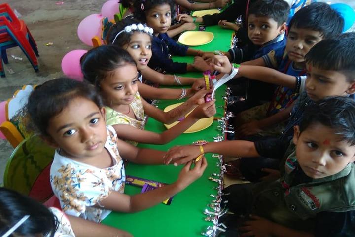G k Silver Stone Public School-Rakhi Celebrations