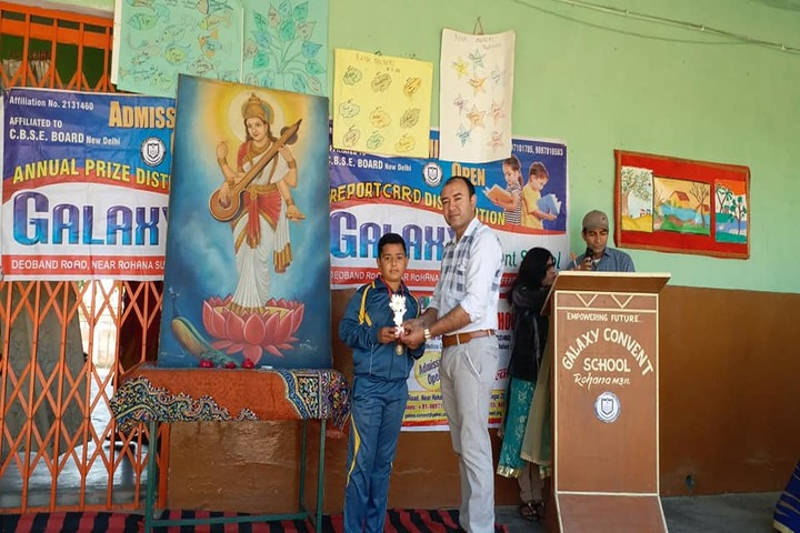 Galaxy Convent School-Prize Distribution