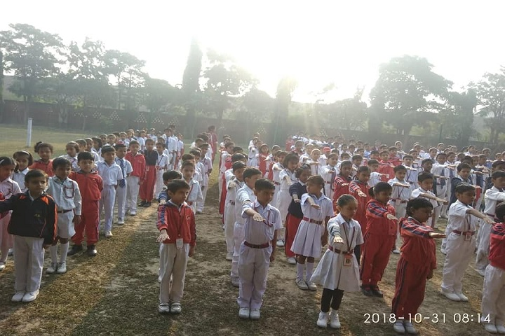 Gandhi International Public School-Assembly