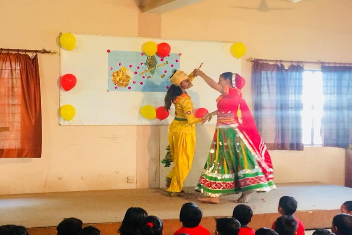 Gandhi International Public School-Festival Celebration