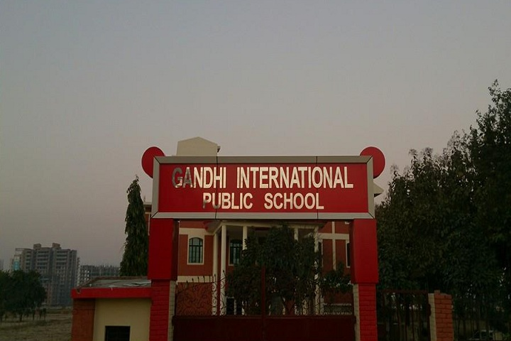 Gandhi International Public School-School Entrance