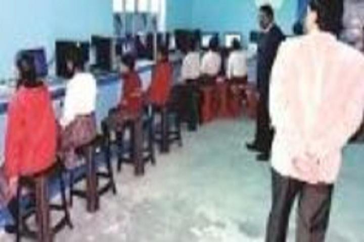 Gandhi Memorial School-Computer lab