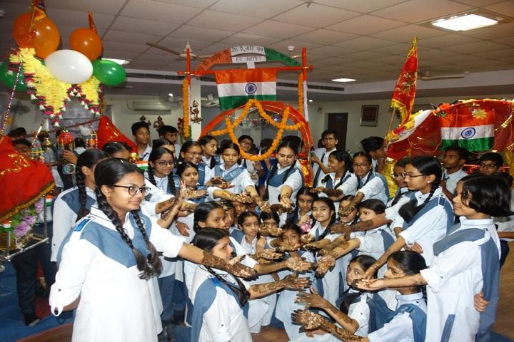 Gandhi Nagar Public School-Mehendi Competition